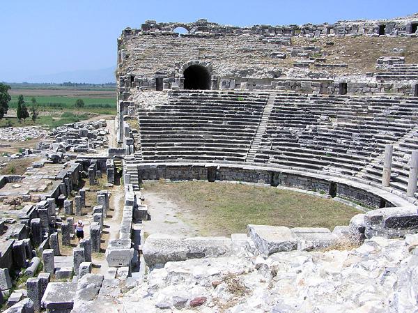 Vortrag antike stätten in der türkei